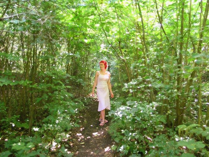 Martina am Ebentaler Wasserfall V
