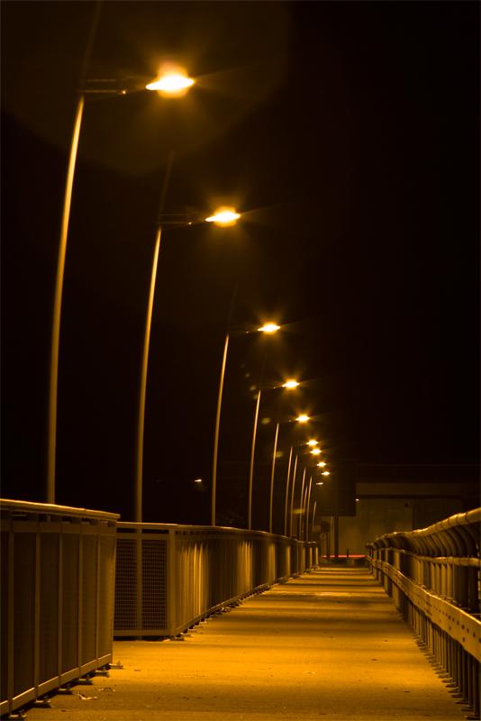 Martinsbrücke - Blickrichtung Tunnel