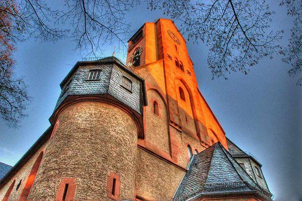 Martinskirche im Darmstädter Martinsviertel