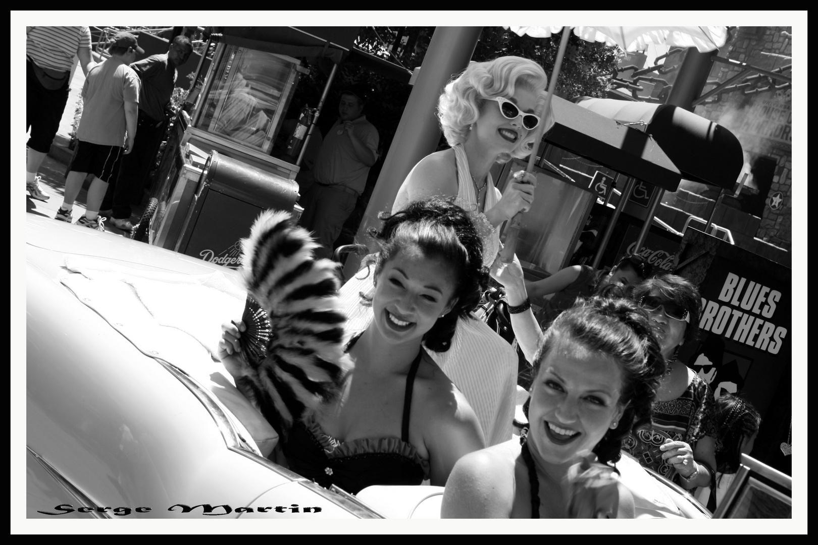 Marylin Monroe et ses Demoiselles