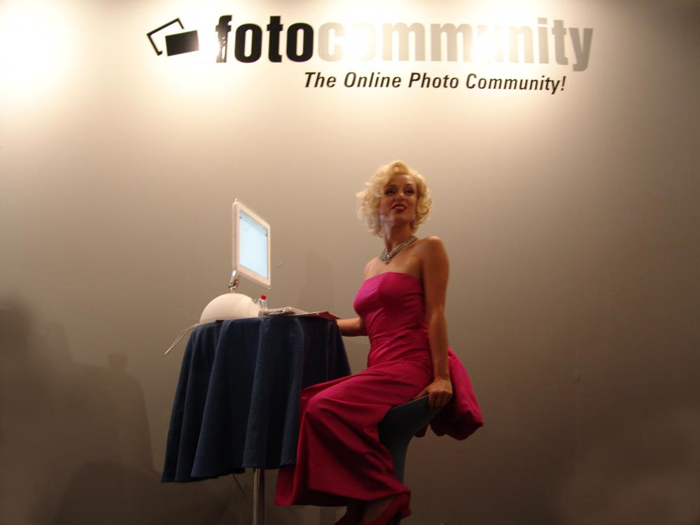 Marylin Monroe meets fotocommunity