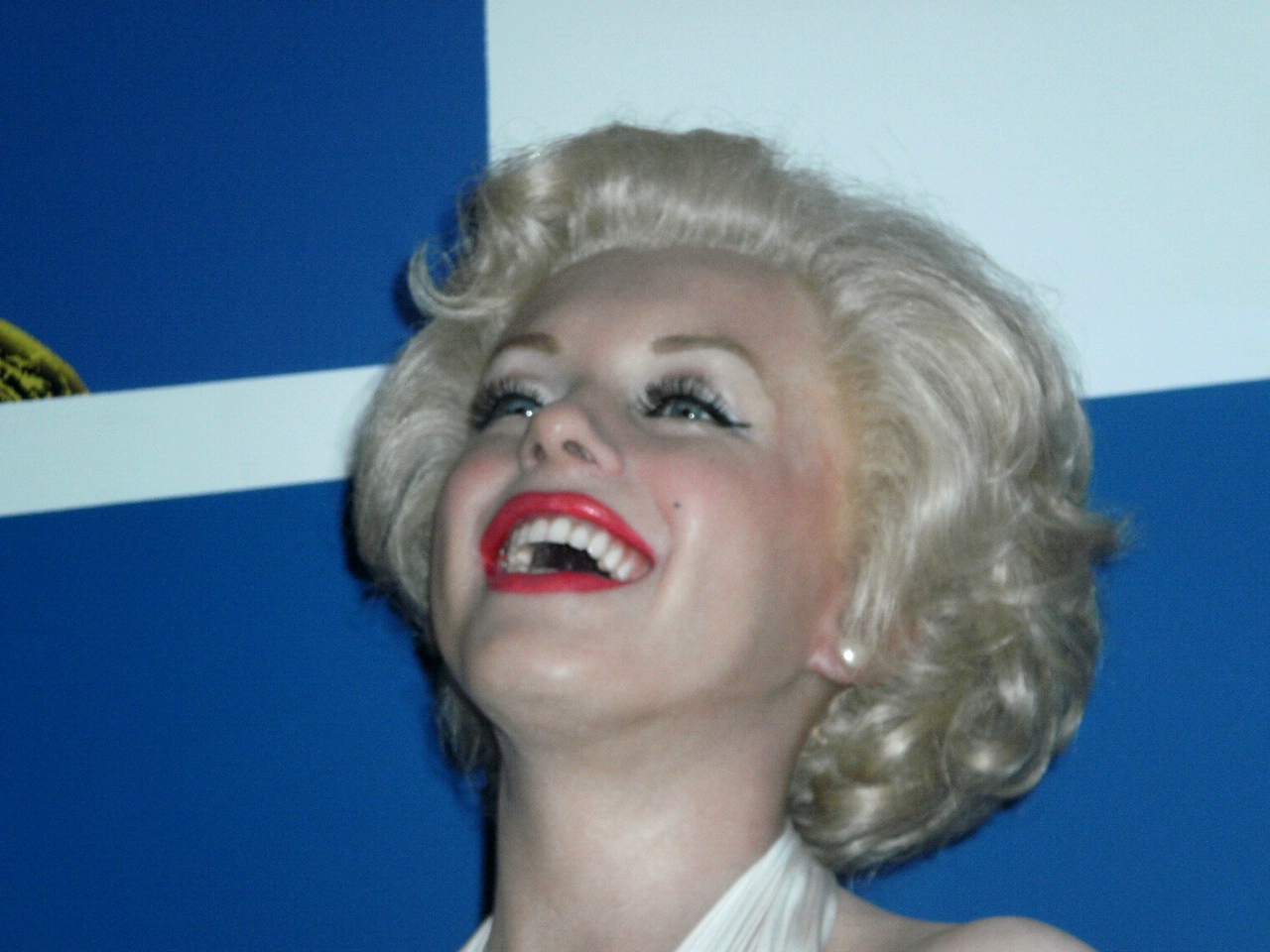 Maryline Monroe en cire