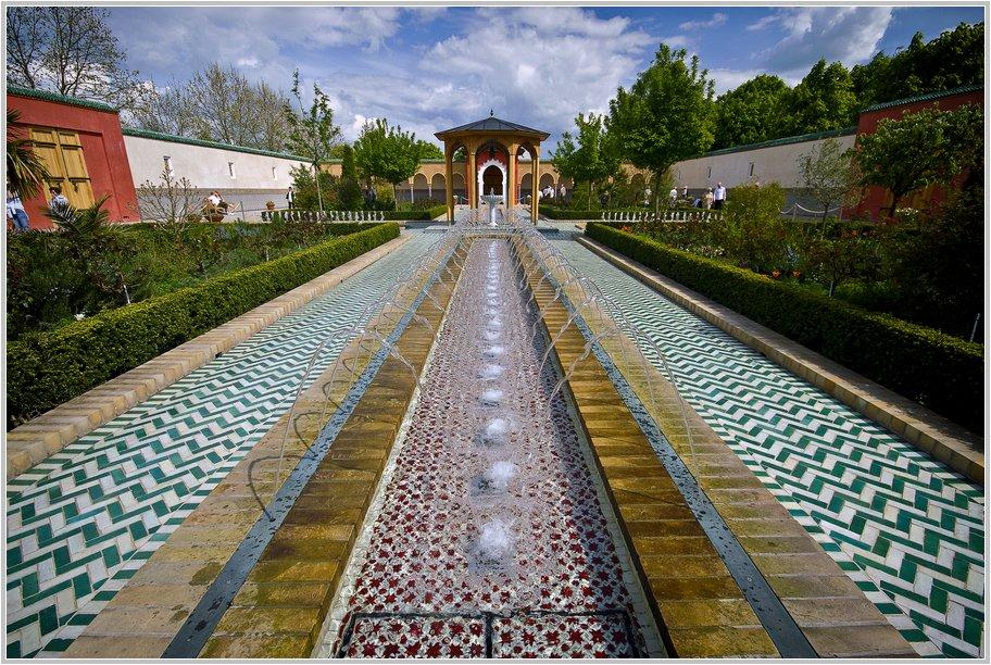 Marzahn. Gärten der Welt. Orientalischer Garten