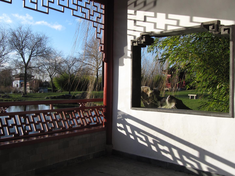 Marzahner Garten im Januar 1