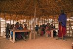 Masai Dorfschule........