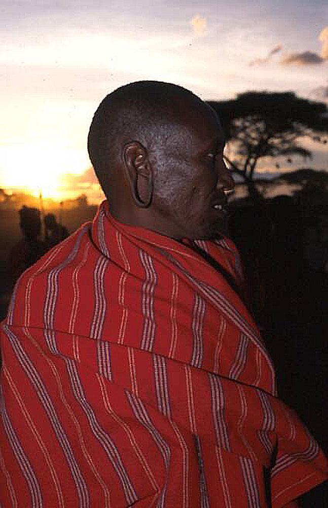 Masai - stolzer Krieger und Stammeshäuptling