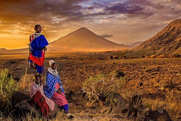 Masais als Models