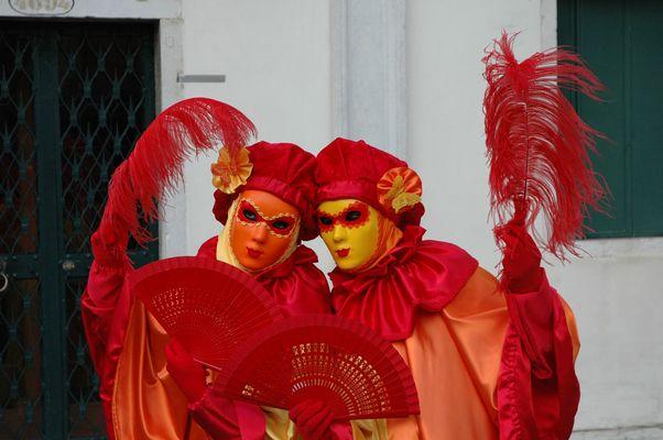maschere in coppia