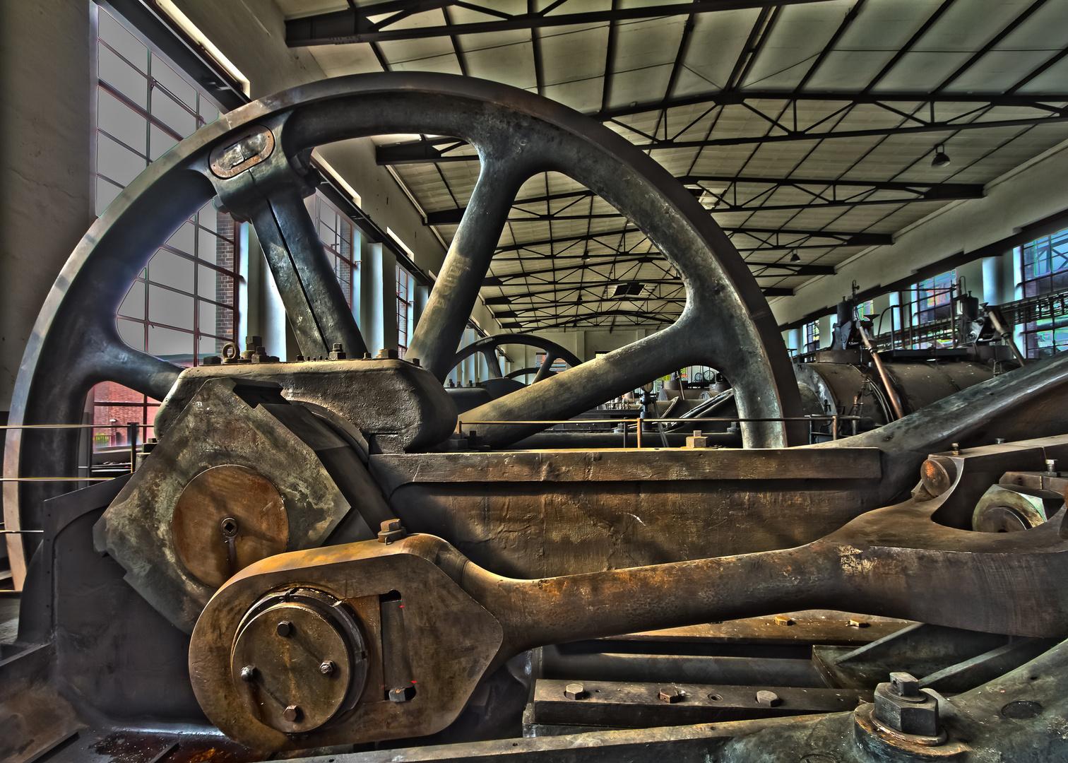 Maschinenhalle - Kokerei Hansa