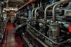 Maschinenraum der Cap San Diego