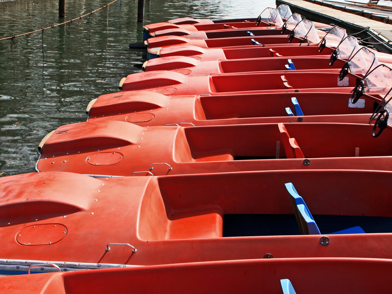 Maschsee - die Tretboot-Saison ist eröffnet