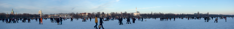 Maschsee on Eis