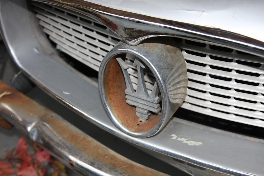 Maserati der die besten Zeiten wohl hinter sich hat