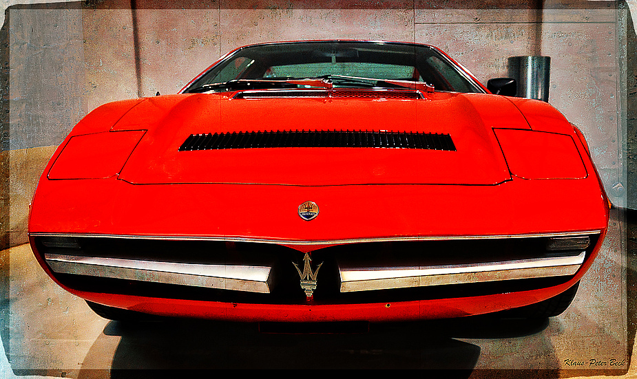 Maserati Merak SS (Front)