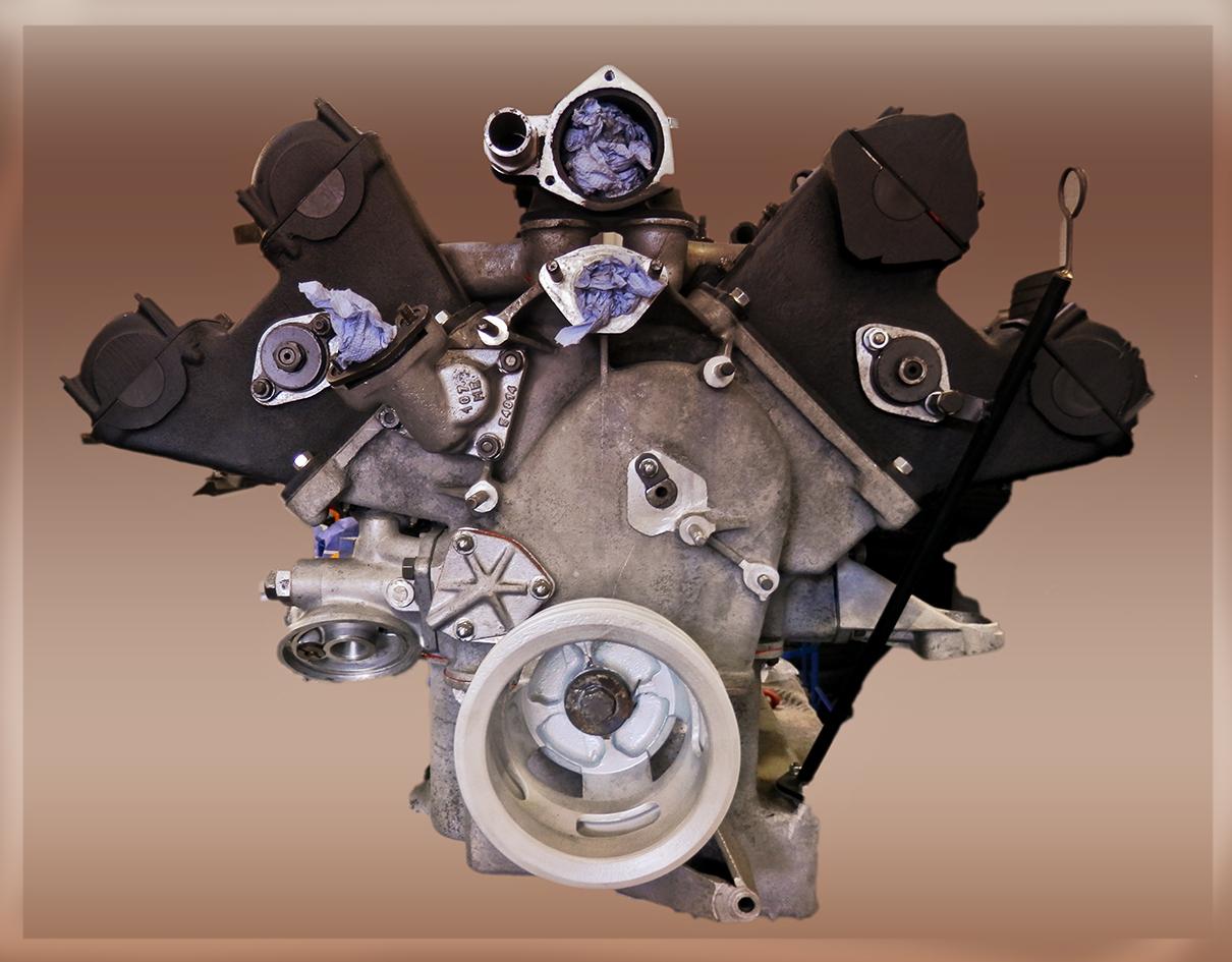 Maserati-Motor, 8-Zylinder