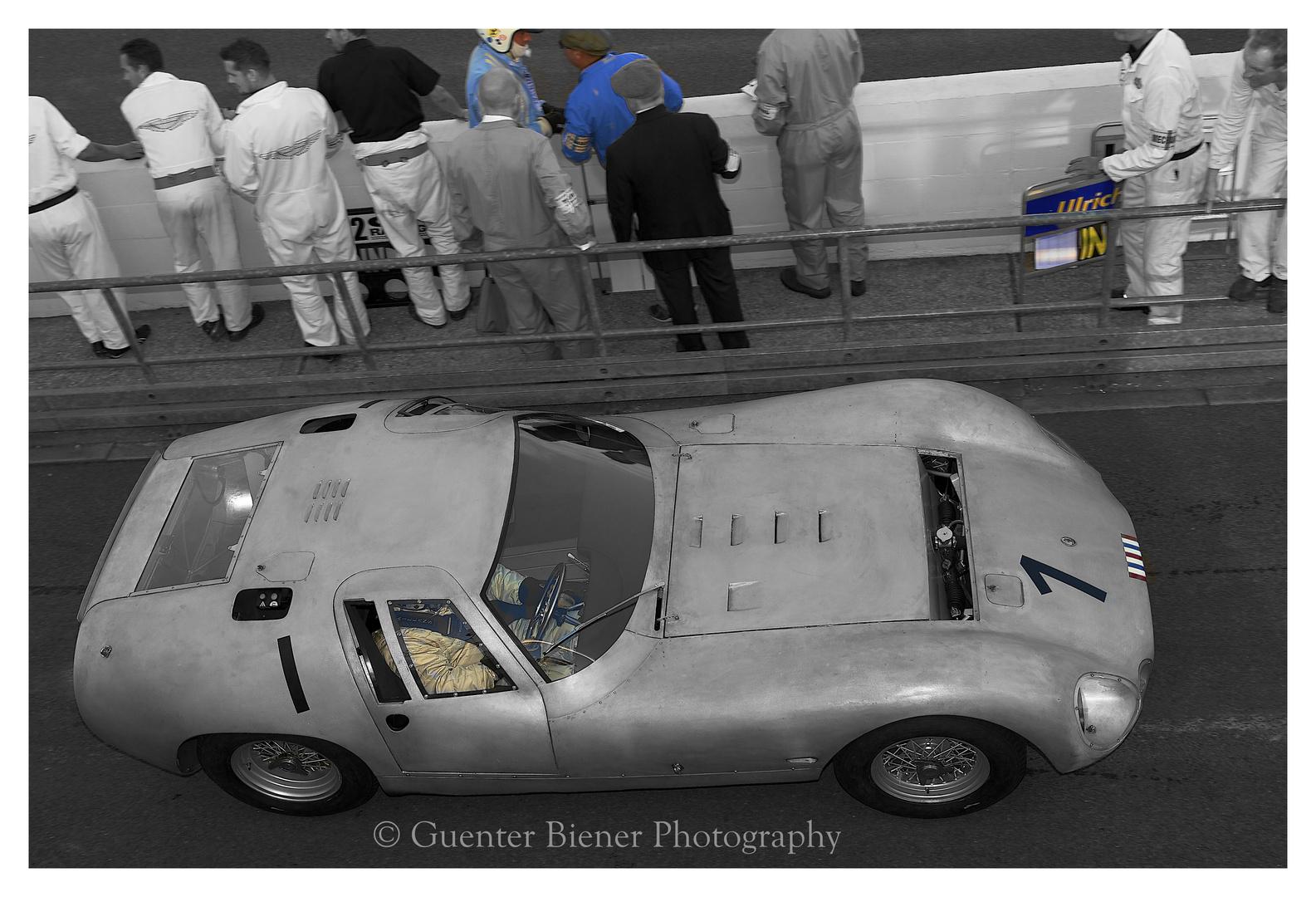 Maserati Tipo 151/3, gefahren von Barrie Baxter und Jochen Mass...