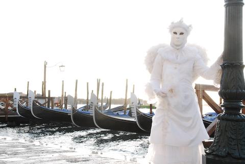Mask In White