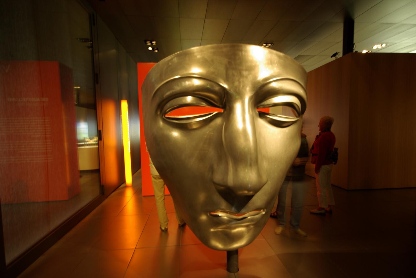 Maske im Museum der Varusschlacht