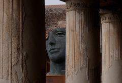 Maske in Pompeji