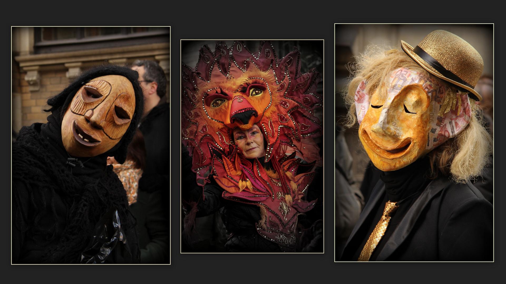 Masken...