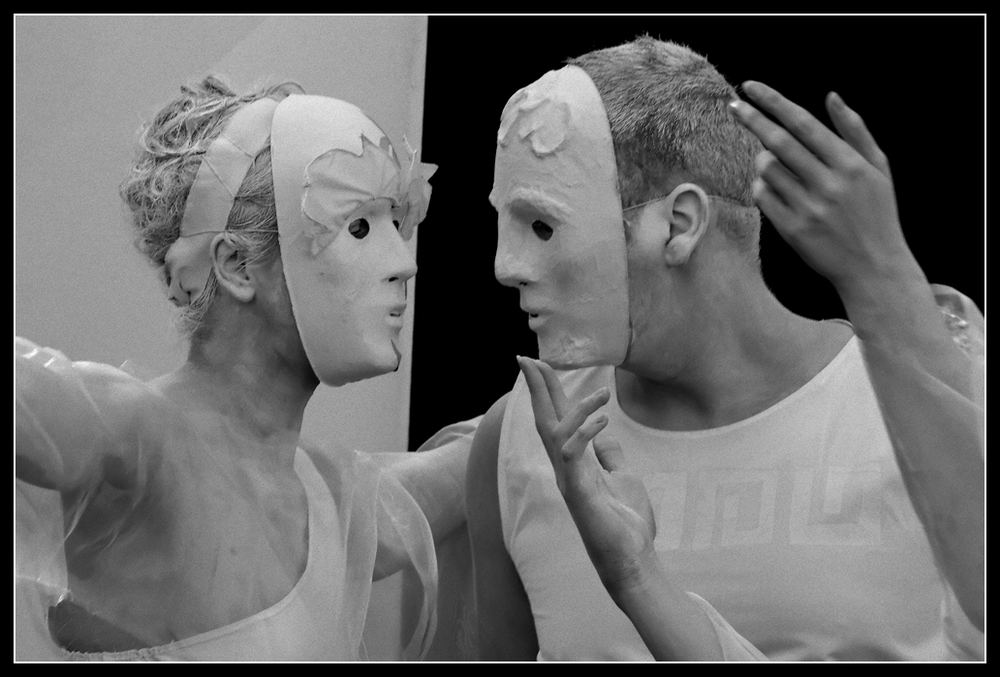 Maskenpaar
