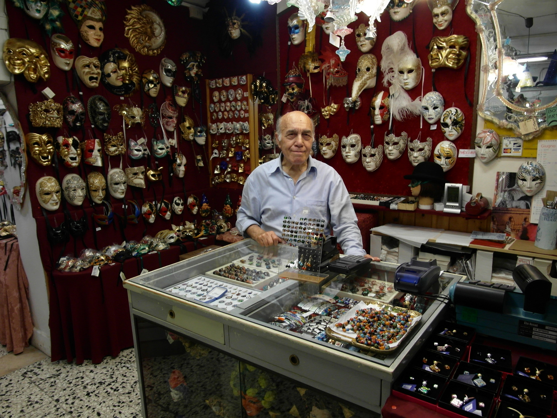 Maskenverkäufer (Venedig)