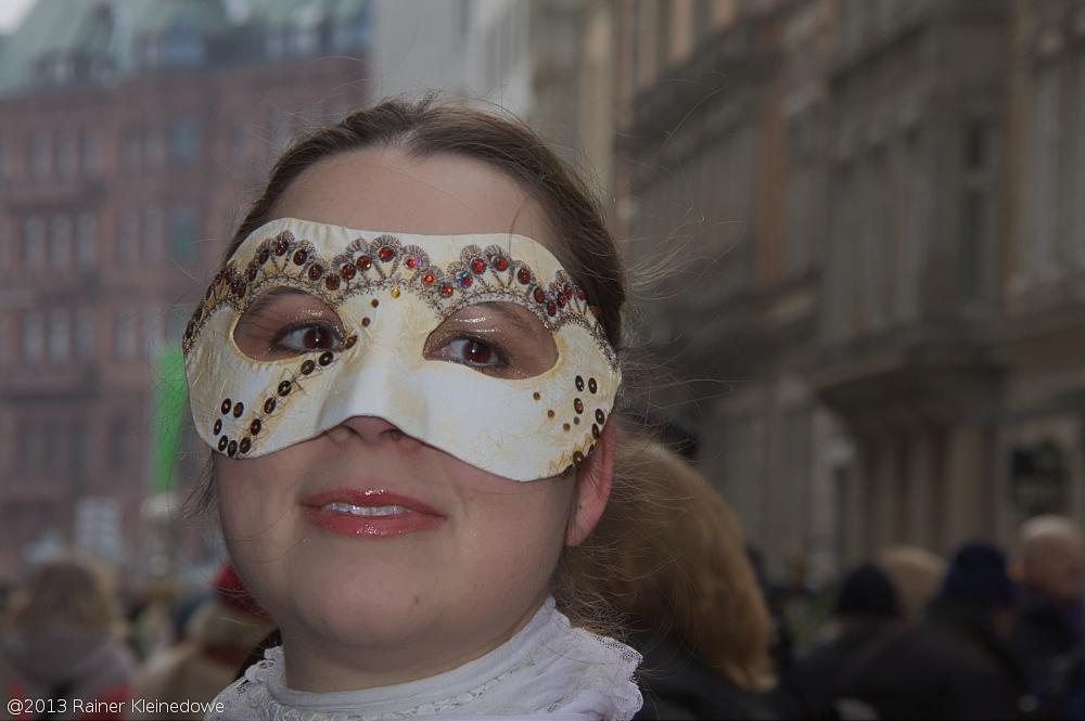 Maskenzauber in Hamburg, 2013
