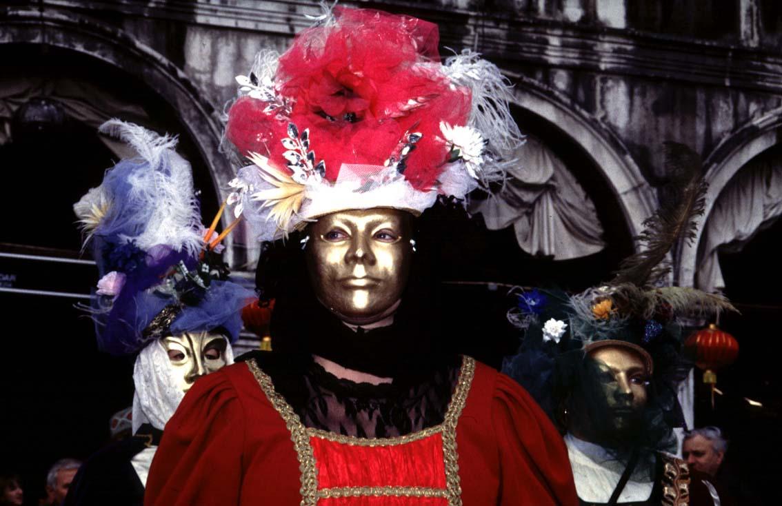 Maskerade auf San Marco