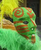 Maskerade grün