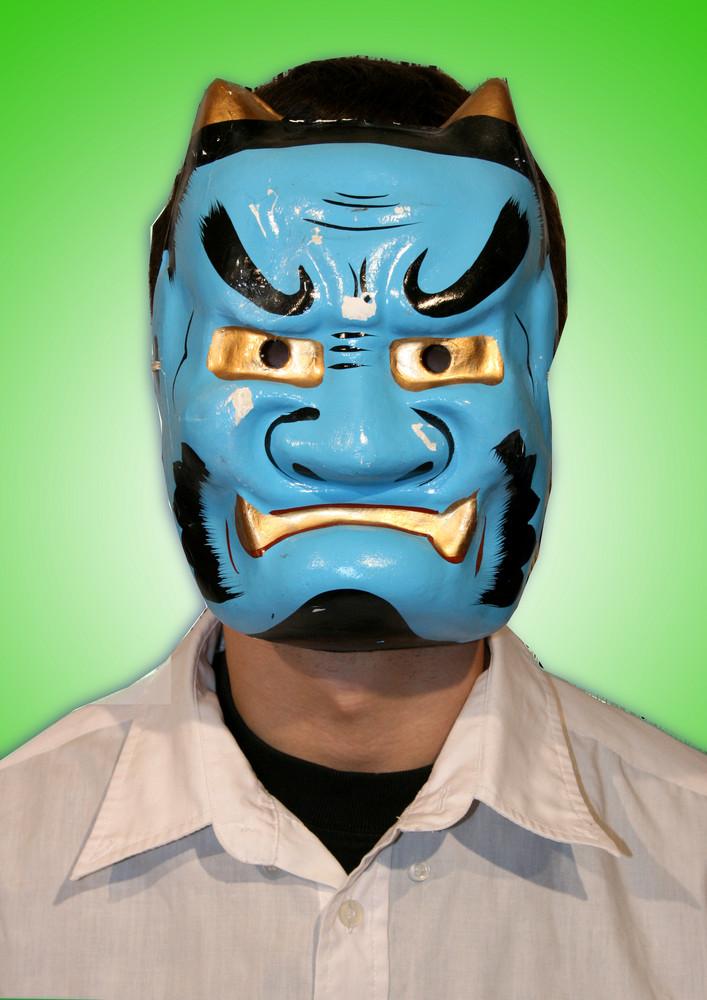 Masque de théâtre japonais