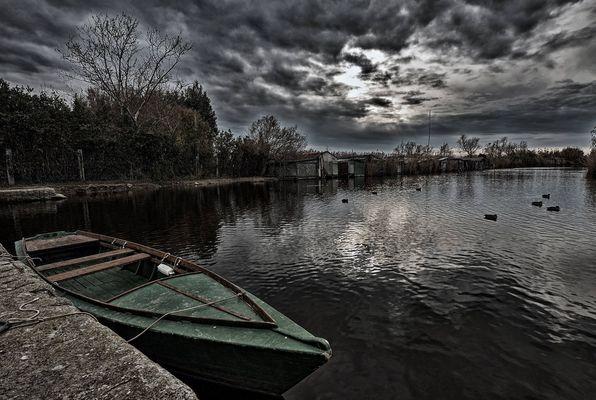 Massaciuccoli lake