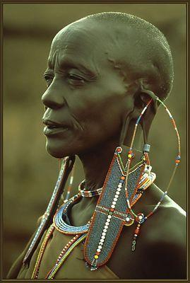 Massai-Frau