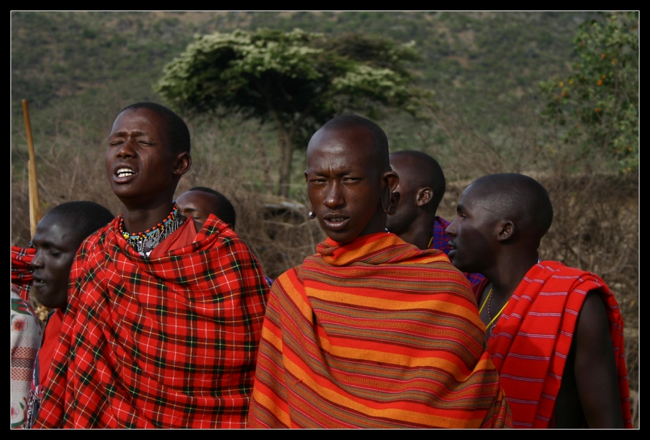 ... Massai Men, Kenya ...