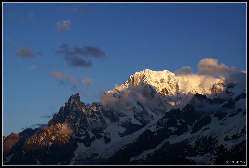 Massiccio del Monte Bianco.
