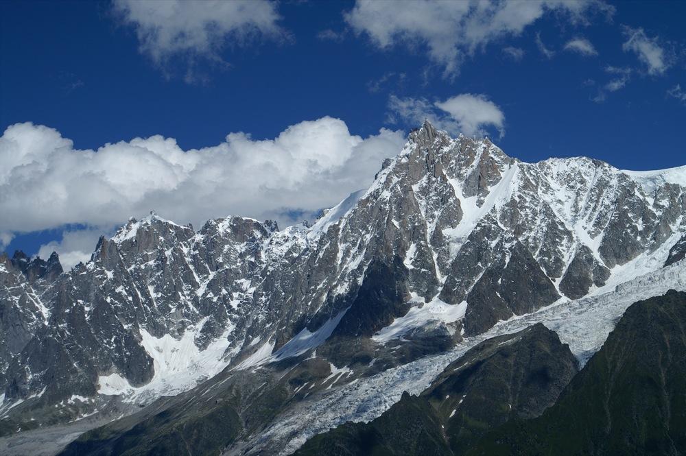 Massif du Mont Blanc, aiguille du midi