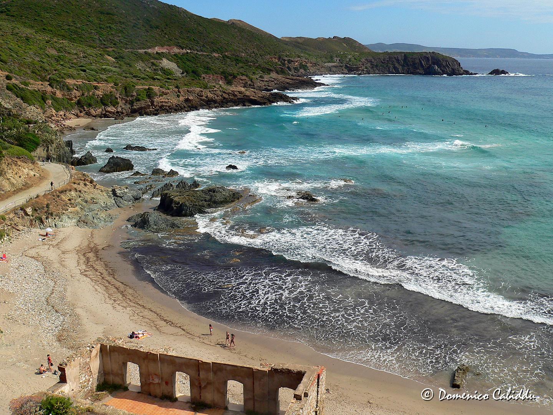 Masua spiaggia