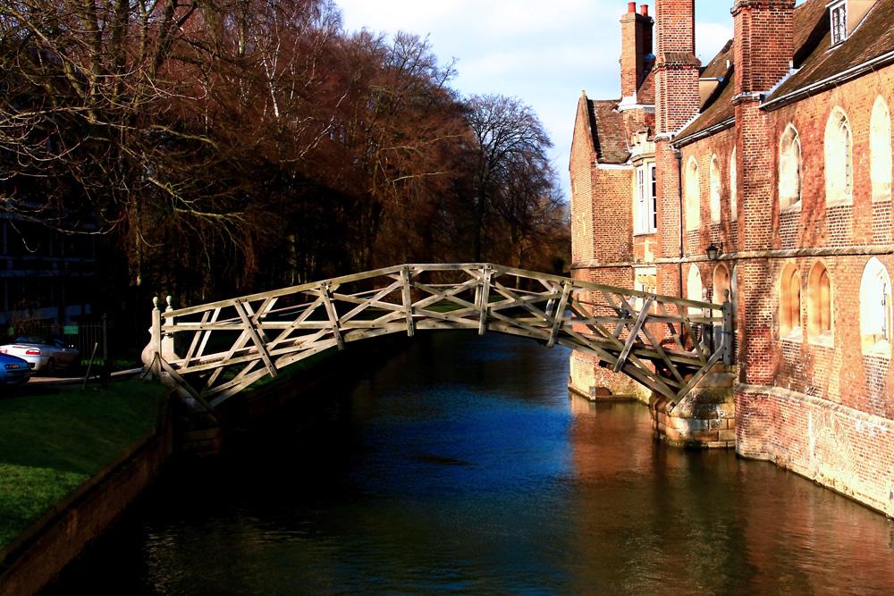 Mathematikerbrücke - Cambridge