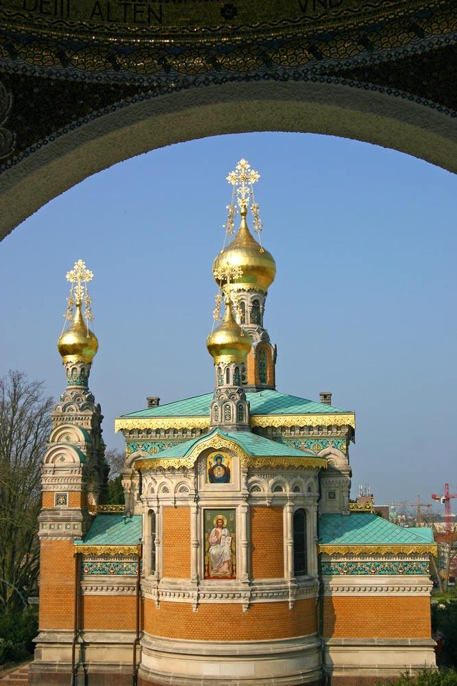 Mathildenhöhe, Russische Kapelle in Darmstadt