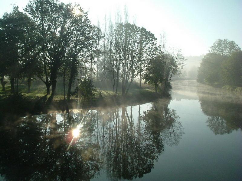 matin brumeux de novembre