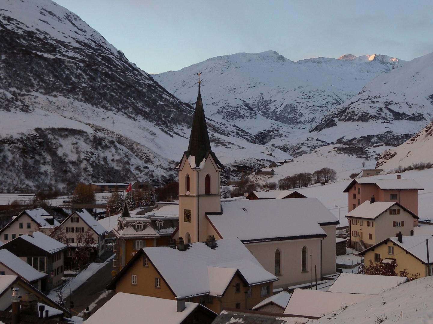 Matin dans les montagnes / Morgens in den Bergen / Manaña en las montañas.02
