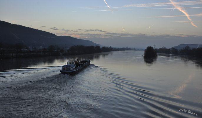 matin d'hiver sur la Seine