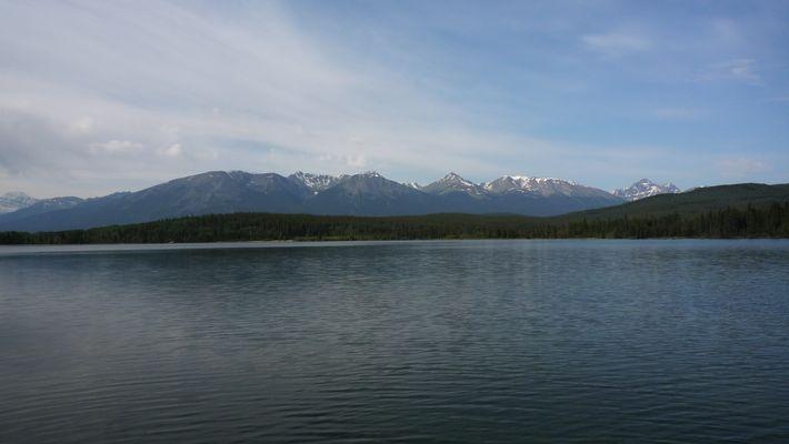 matinée sur le lac