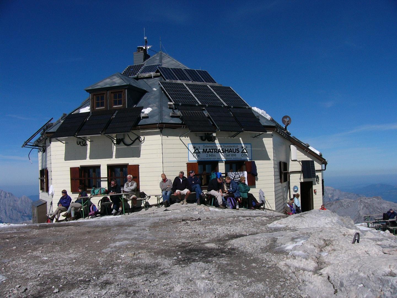 Matrashaus 2.941m am Gipfel des Höchkönig`s