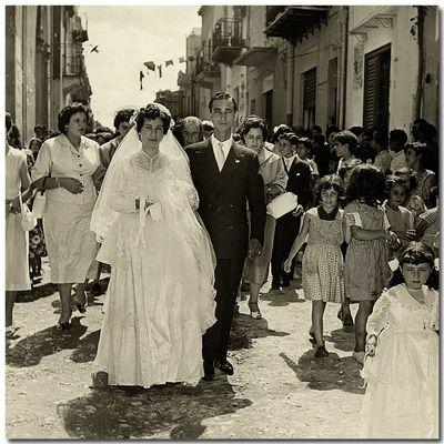 Matrimonio d'altri tempi!