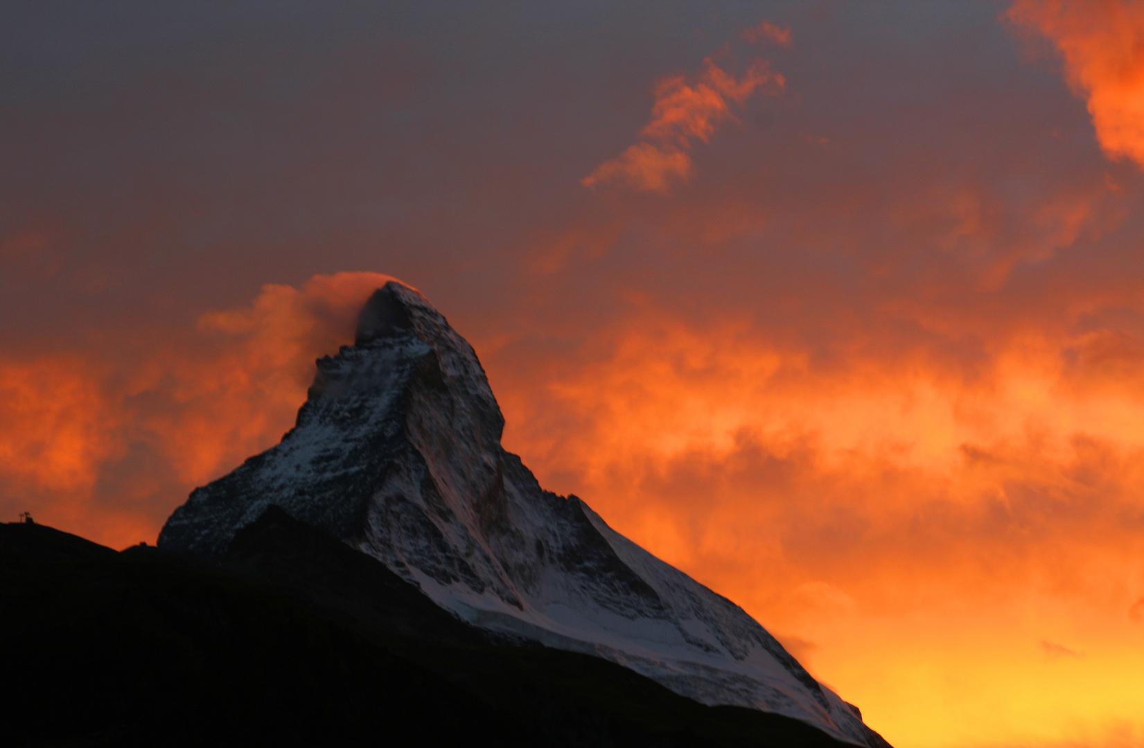Matterhorn, am Abend