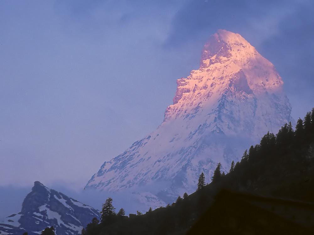Matterhorn am frühen Morgen