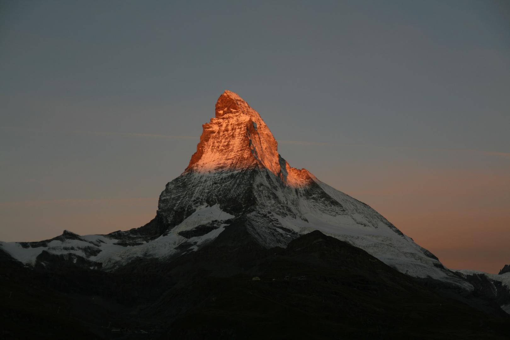 Matterhorn, frühmorgens