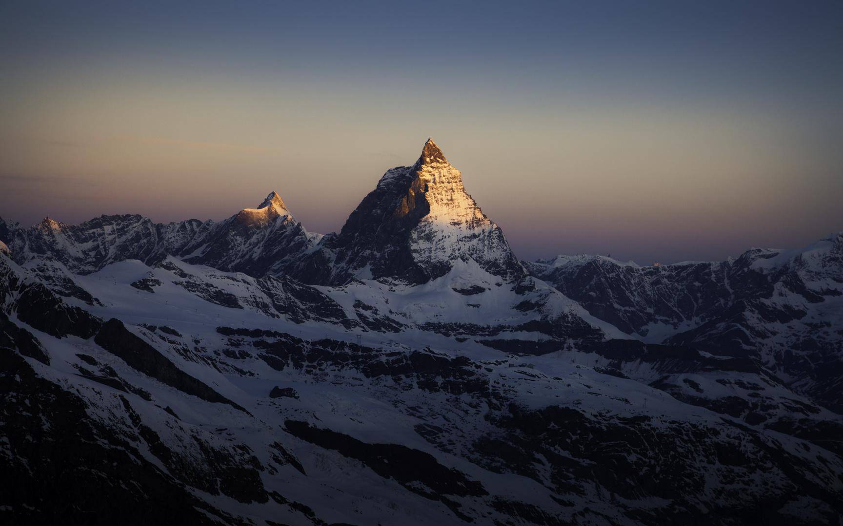 Matterhorn im Morgenlicht