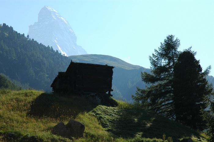 Matterhorn im Rückblick
