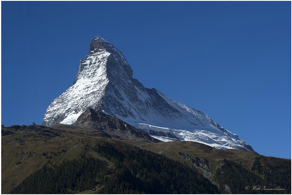 Matterhorn im Sonnenlicht